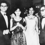 Con Leonardo Favio, Beatriz, Guido y Graciela Borges