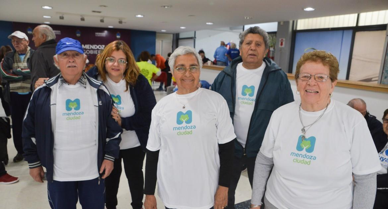 Los Adultos Mayores De La Ciudad Participan En Los Juegos