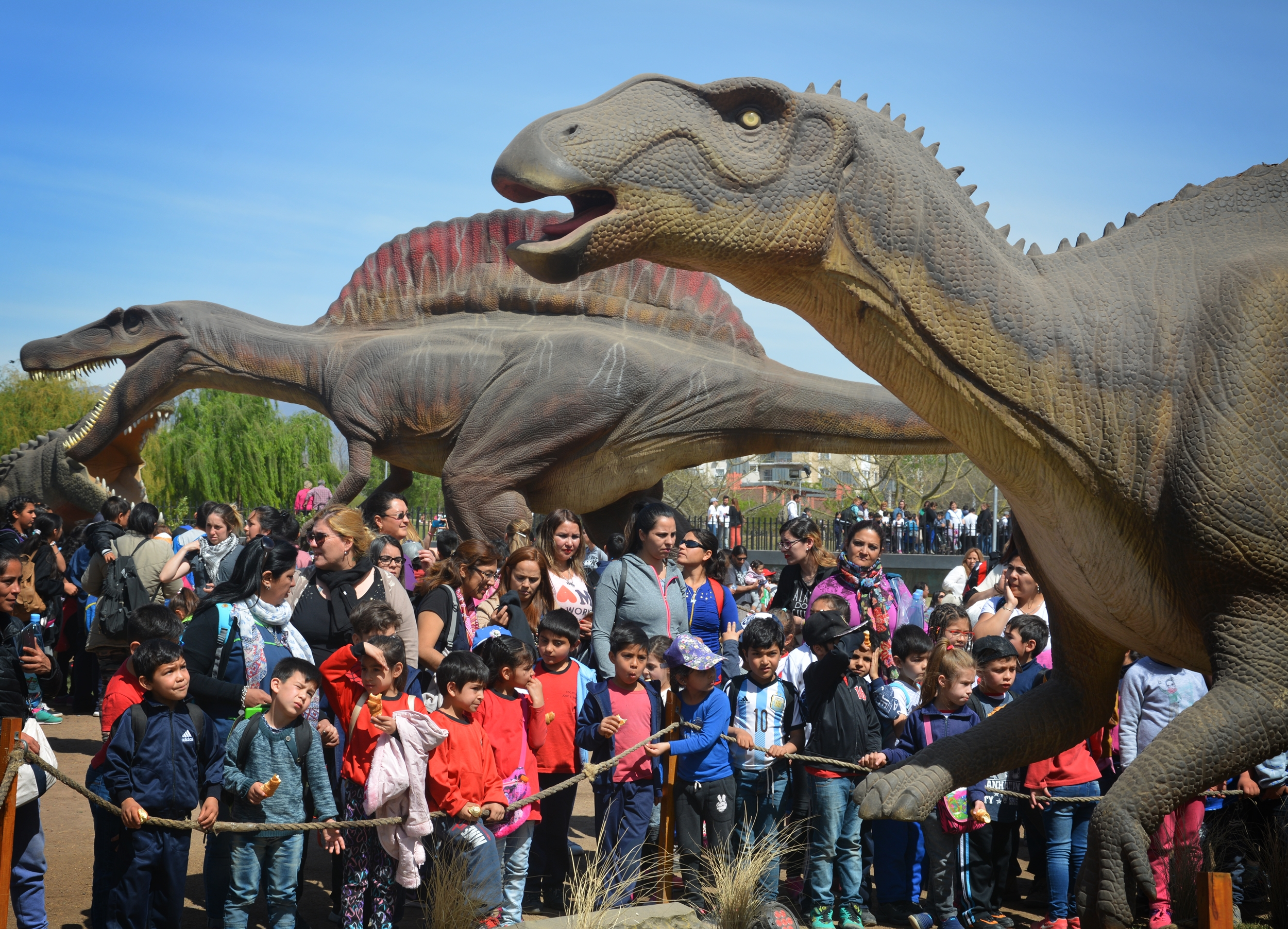 Tierra de Dinos Tecnópolis Federal Mendoza