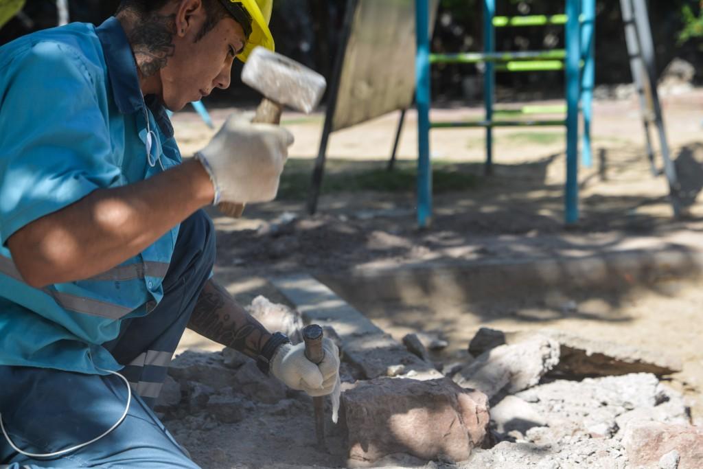 remodelación Plazoleta Caseros 2