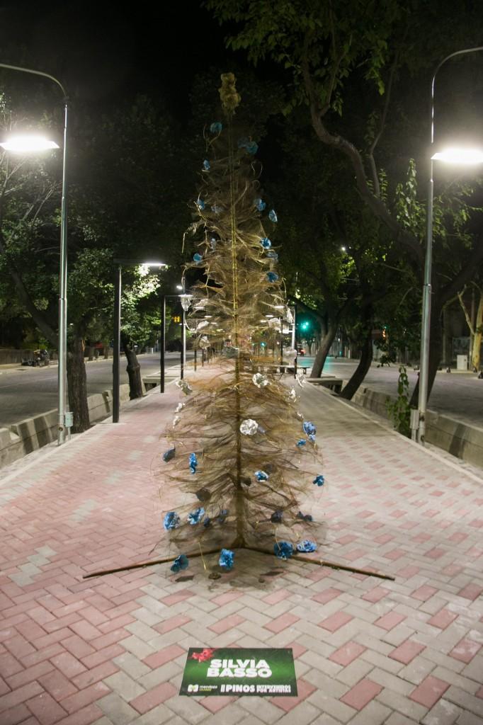 Pino navideño. Paseo Pedro Molina 5
