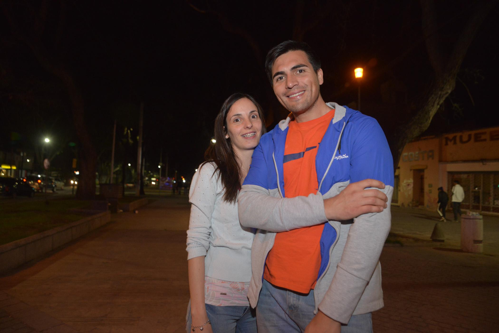 Ana Bulfon y Gonzalo Minini