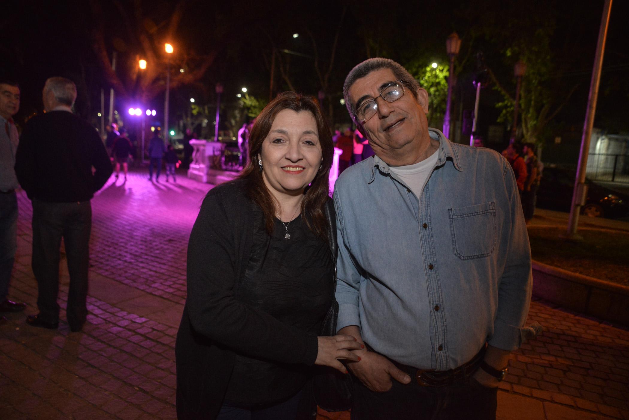 Laura Martín y Rubén Aguilera