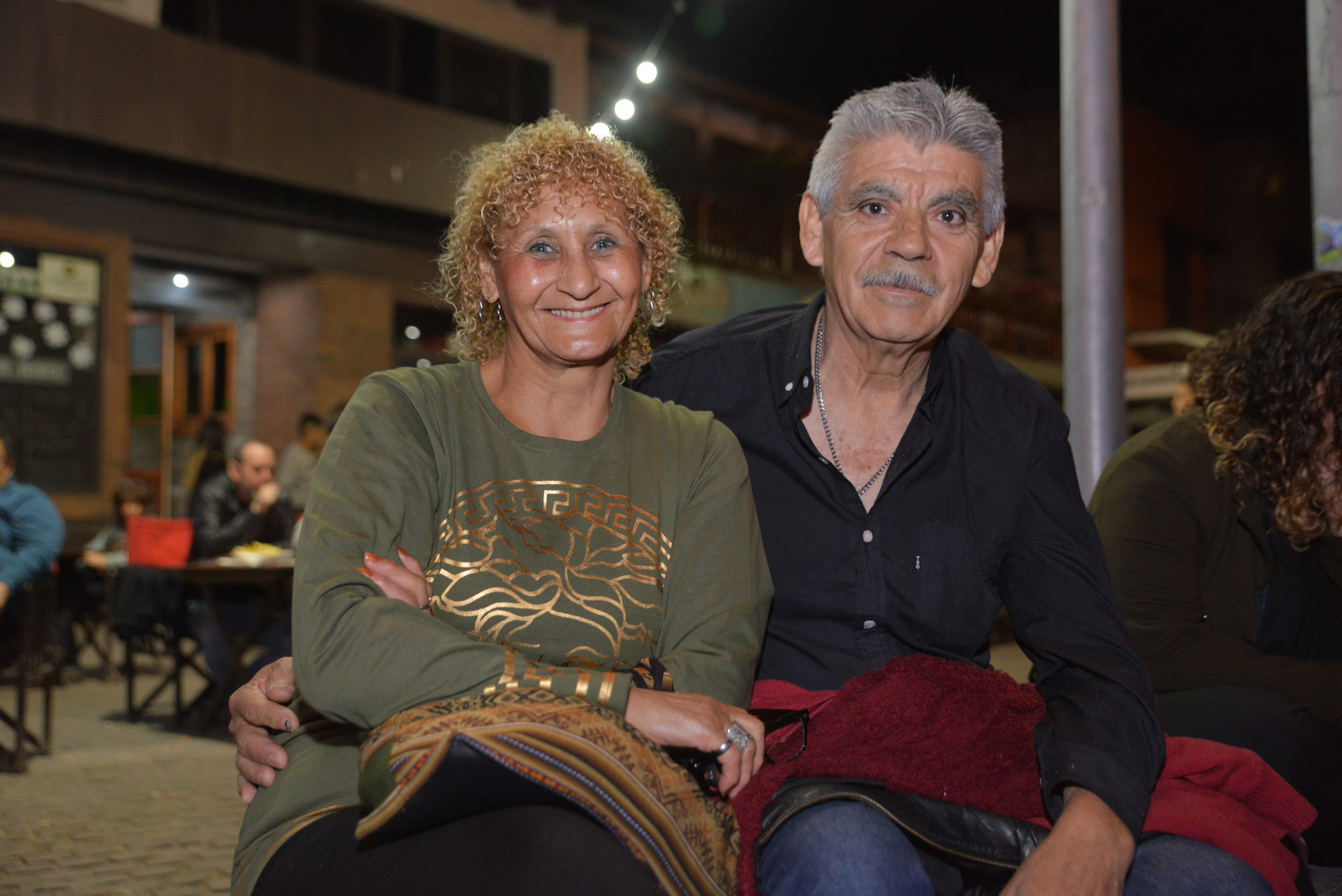 María Mirtha Villegas y José Castro