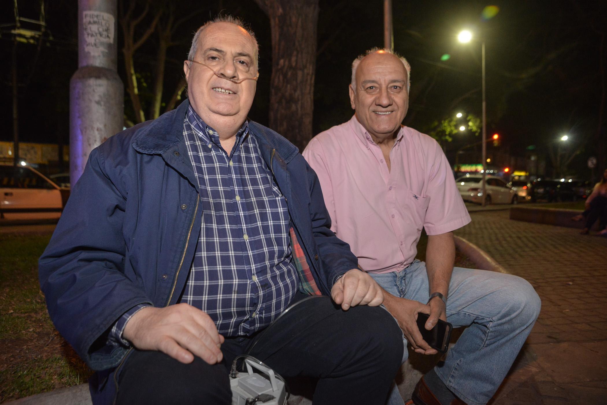 Ricardo Ortiz y Agustín Roberto Barros