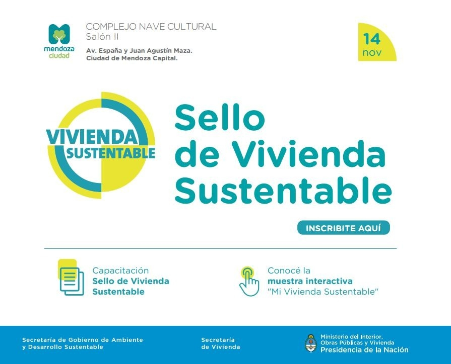 sello vivienda sustentable flyer