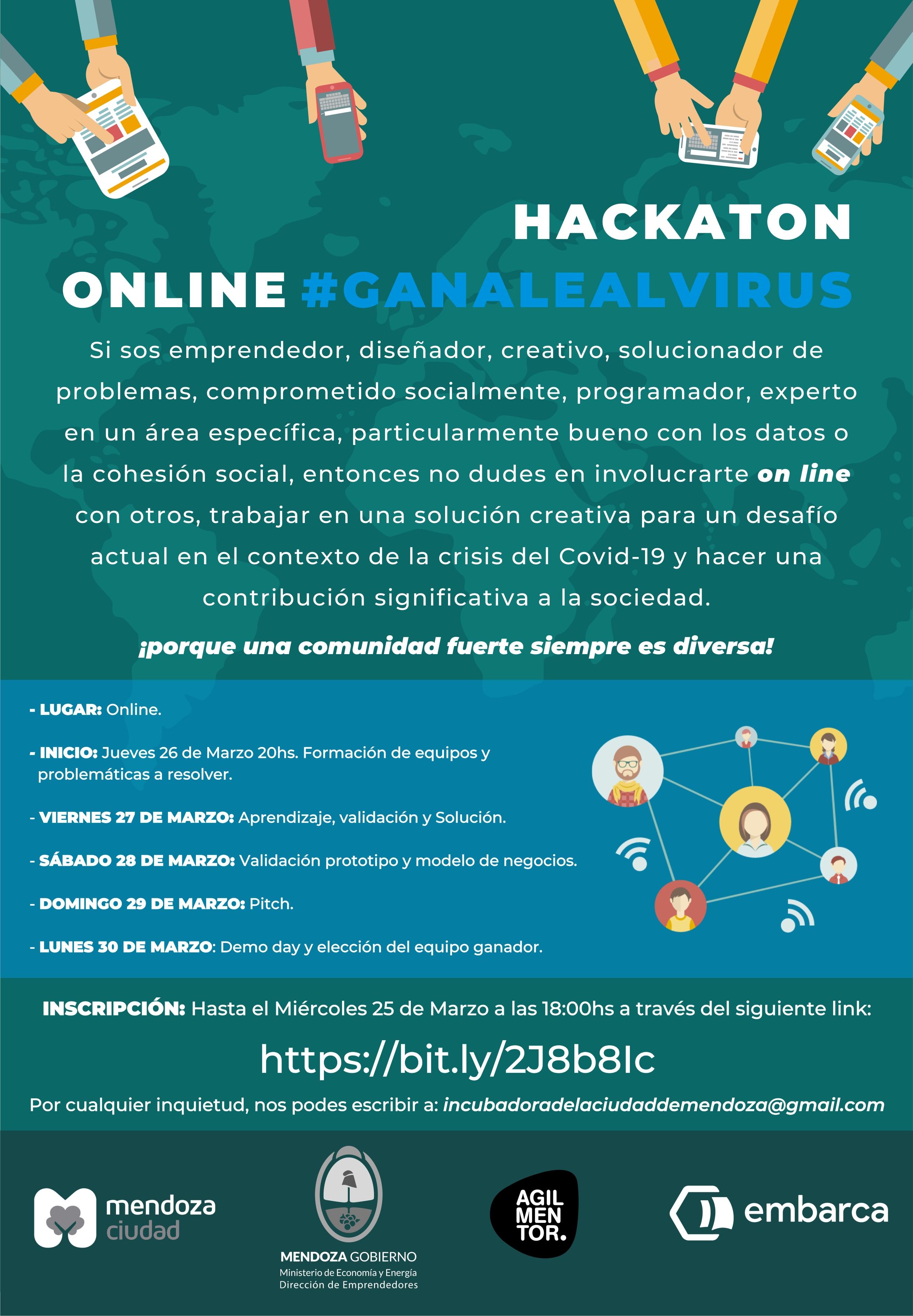 flyer hackaton online