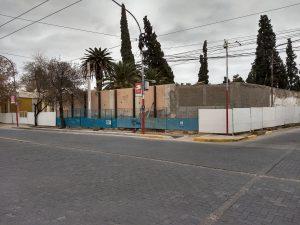 reparación muro cementerio