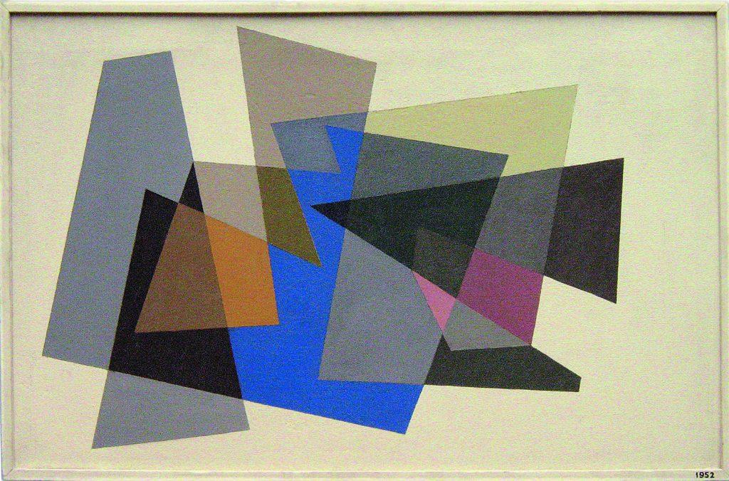 Geometría y Color 1952 Abdulio Giudici Colección Fundación del Interior