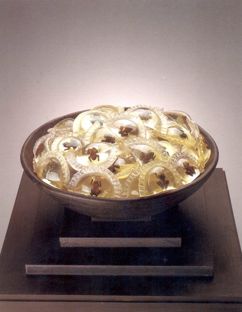 Plato nacional 2003 Nora Correas Colección Fundación del Interior