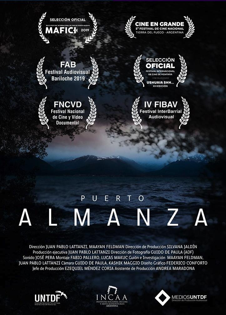 Afiche PUERTO ALMANZA Juan Pablo Lattanzi