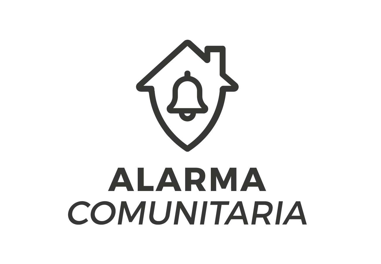 cartel calle alarma comunitaria